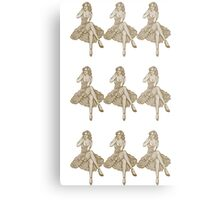 Pin up Couture Metal Print