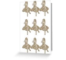 Pin up Couture Greeting Card