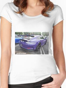 Porsche GT3 RS Women's Fitted Scoop T-Shirt