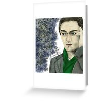 Professor Charles Xavier  Greeting Card
