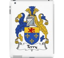 Terry Coat of Arms / Terry Family Crest iPad Case/Skin