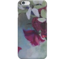 peonies and eucalyptus iPhone Case/Skin