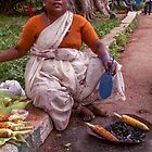 Selling corn by indiafrank