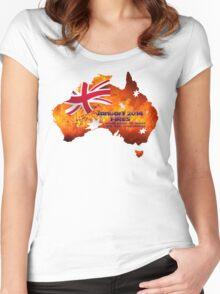 Nsw Bushfires Women's Fitted Scoop T-Shirt
