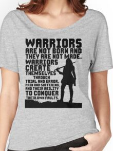 Female Warrior (Sword) Women's Relaxed Fit T-Shirt