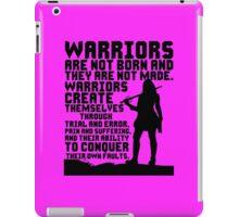 Female Warrior (Sword) iPad Case/Skin