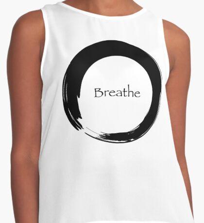 Breathe Symbol of Zen Contrast Tank