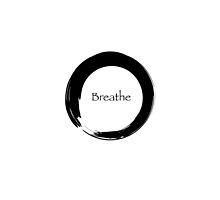 Breathe Symbol of Zen by cinn