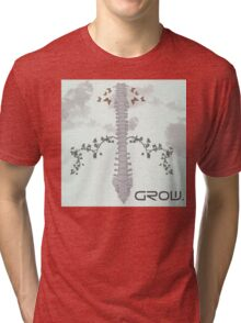 Spine Growth Tri-blend T-Shirt