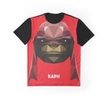 Raphael Mutant Ninja Turtle Graphic T-Shirt