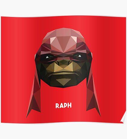 Raphael Mutant Ninja Turtle Poster