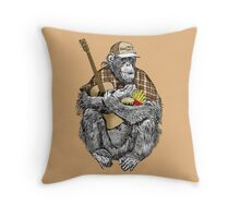 THE BAD BOY Throw Pillow