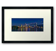Surfers Paradise Skyline, Gold Coast, Australia Framed Print