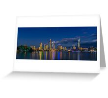 Surfers Paradise Skyline, Gold Coast, Australia Greeting Card