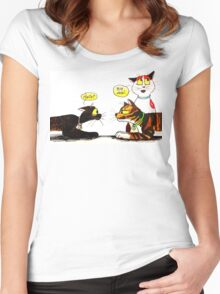 SkyeCatz Introductions Women's Fitted Scoop T-Shirt