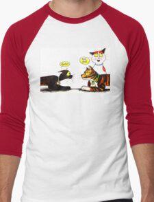 SkyeCatz Introductions Men's Baseball ¾ T-Shirt