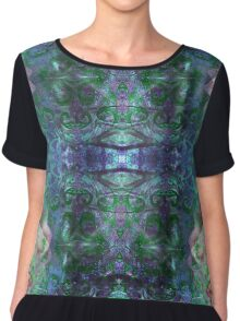 Baroque Forest - Version 1 Chiffon Top