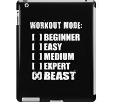 Workout Mode - BEAST iPad Case/Skin