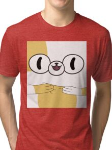 Adventure Time - Cake The Cat Tri-blend T-Shirt