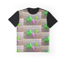 Purple Oxalis Graphic T-Shirt