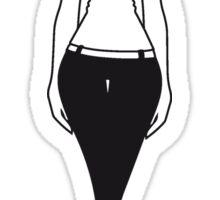 girl style fashion chic  Sticker