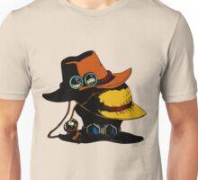 One Piece - Ace Luffy Sabo Hat Unisex T-Shirt