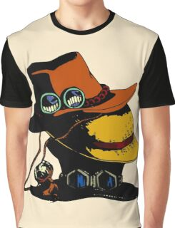 One Piece - Ace Luffy Sabo Hat Graphic T-Shirt