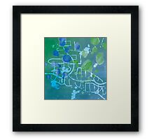 Up to Now - A Short Drive from Childhood Framed Print