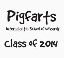 Pigfarts Class of 2014 Kids Tee