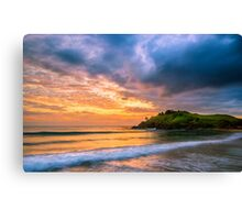 Sunrise at Cabarita Beach Canvas Print