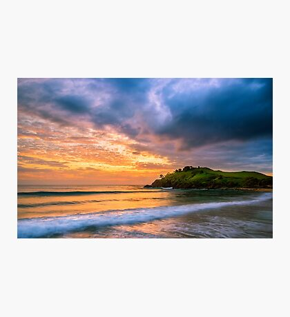 Sunrise at Cabarita Beach Photographic Print