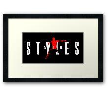 AirJ Styles Framed Print