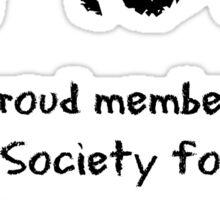 A Proud Member of SPUG Sticker
