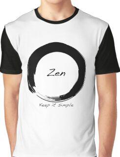 Zen; Keep it Simple Graphic T-Shirt