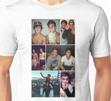 Dolan twins collage 2 Unisex T-Shirt