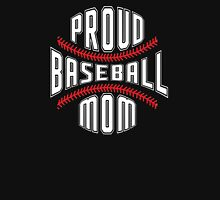 Proud Baseball Mom Women's Fitted Scoop T-Shirt