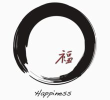 """Happiness"" symbol and Enso circle by cinn"
