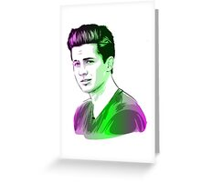 charlie puth Greeting Card