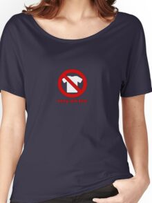 Naughty No tee Women's Relaxed Fit T-Shirt