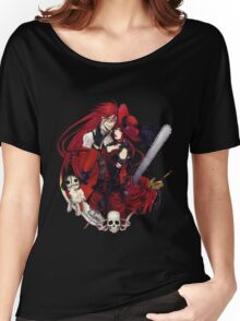 grell and madam red together  Women's Relaxed Fit T-Shirt