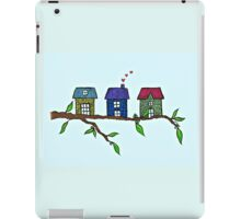 Tree houses little houses in the trees iPad Case/Skin
