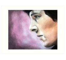 Sherlock - A Study In Pink Art Print