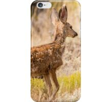 Fawn In Desert Mountain Brush - Utah iPhone Case/Skin