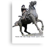 Poncho Villa rides into Arizona Metal Print