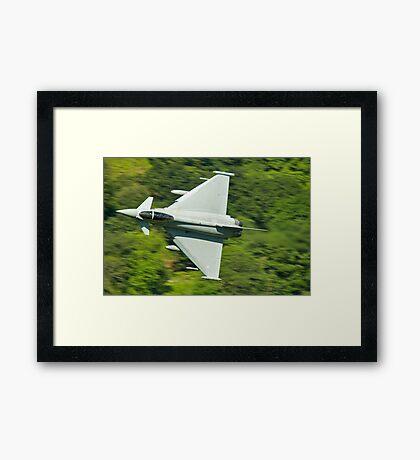 Typhoon (euro fighter) Framed Print