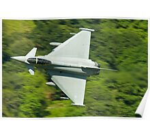 Typhoon (euro fighter) Poster