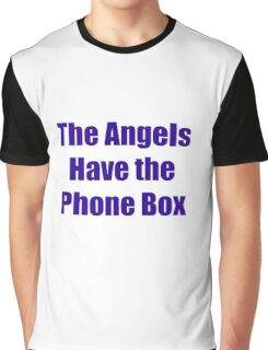 The Angels Have The Phone Box Graphic T-Shirt