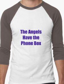 The Angels Have The Phone Box Men's Baseball ¾ T-Shirt