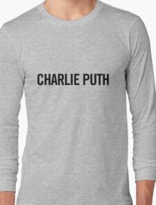 charlie puth Long Sleeve T-Shirt