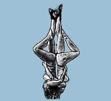 Two suspended yoga teachers  Unisex T-Shirt